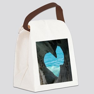 ROMANTIC VIEW * Canvas Lunch Bag