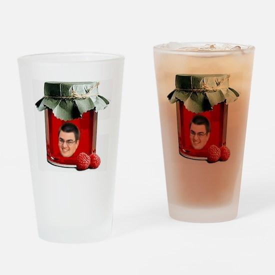 Jellyman Tee Drinking Glass