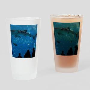 Whale Shark 16 x 20 Print Drinking Glass