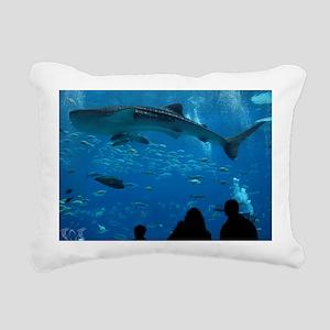 Whale Shark 16 x 20 Prin Rectangular Canvas Pillow