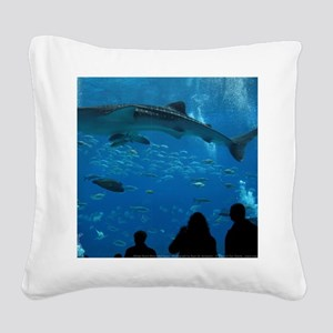 Whale Shark 16 x 20 Print Square Canvas Pillow