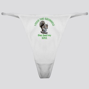 Squirrel Feeder Classic Thong