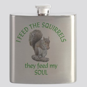 Squirrel Feeder Flask