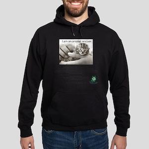 I am an Animal Rescuer Hoodie (dark)