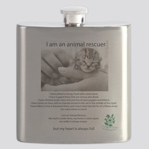 I am an Animal Rescuer Flask