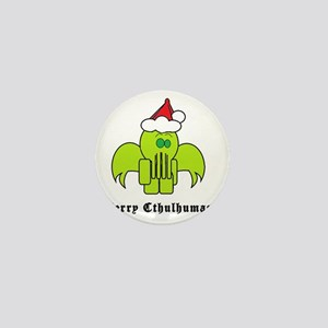 Merry Cthulhumas! Mini Button