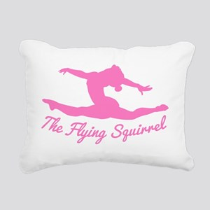 Tshirts-Girl-Solid-Pink Rectangular Canvas Pillow