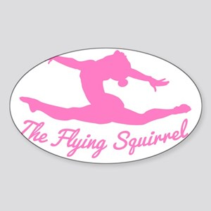 Tshirts-Girl-Solid-Pink Sticker (Oval)