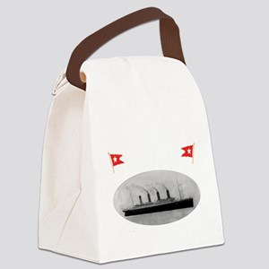 TG214x14whiteletTRANSBESTUSETHIS Canvas Lunch Bag