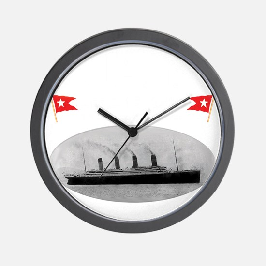 TG214x14whiteletTRANSBESTUSETHIS Wall Clock