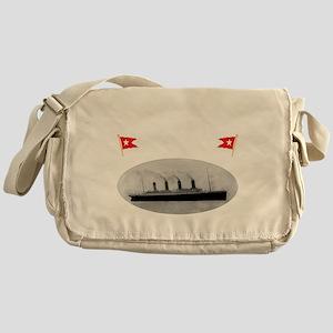 TG214x14whiteletTRANSBESTUSETHIS Messenger Bag