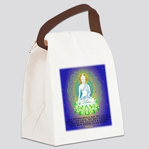 Buddha, Limitless Compassion Desi Canvas Lunch Bag