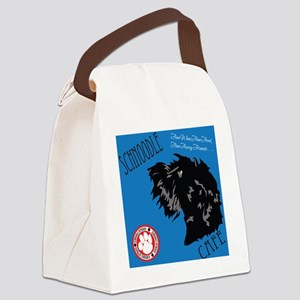 Schnoodle Cafe Canvas Lunch Bag