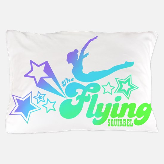 Tshirts-Size-Stars-Logo-Rainbow-Purple Pillow Case