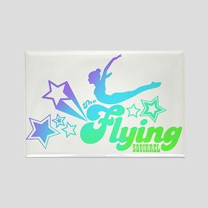 Tshirts-Size-Stars-Logo-Rainbow-P Rectangle Magnet