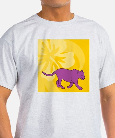 Panther Luggage Handle Wrap T-Shirt