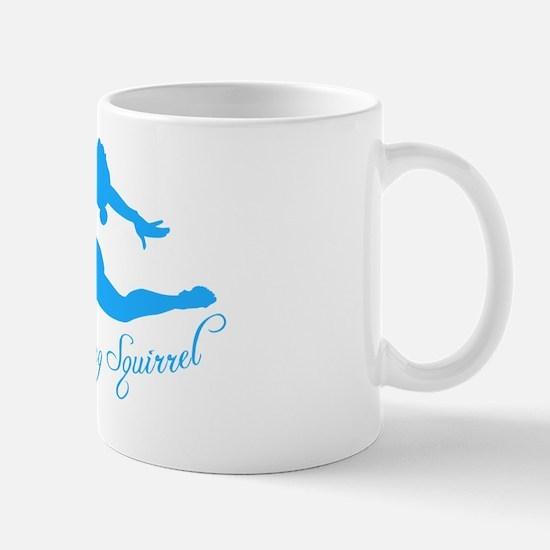Tshirts-Girl-Solid-Blue Mug