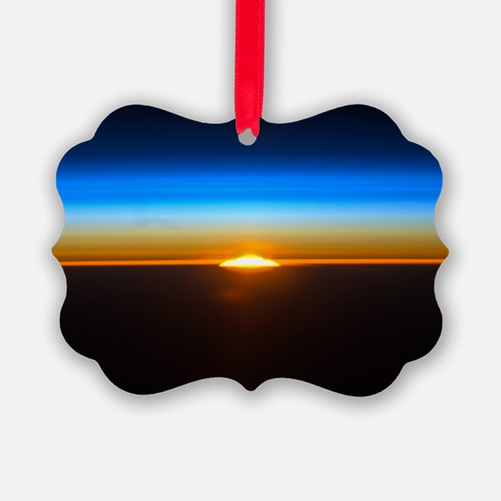 Sunrise in the Atmosphere Ornament
