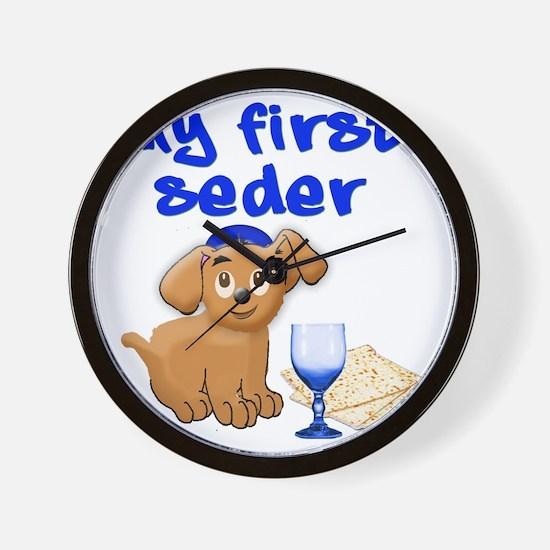 my first Seder Wall Clock