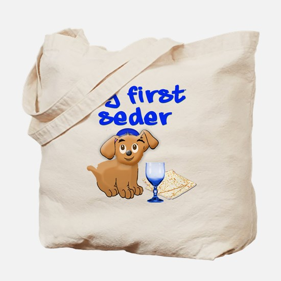 my first Seder Tote Bag