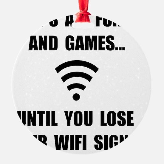 Lose Your WiFi Ornament