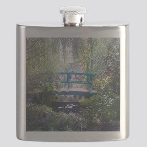Monet Bridge Horizontal Flask