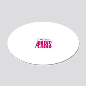 Pars 20x12 Oval Wall Decal