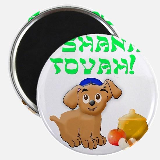 Rosh hashana puppy Magnet