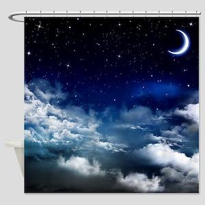 Silent Night Shower Curtain
