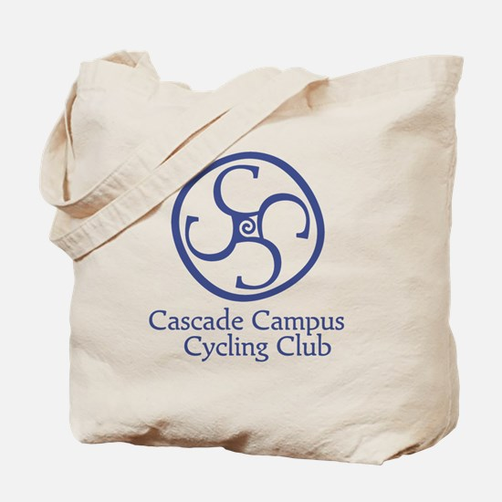 Cascade Campus Cycling Club Tote Bag