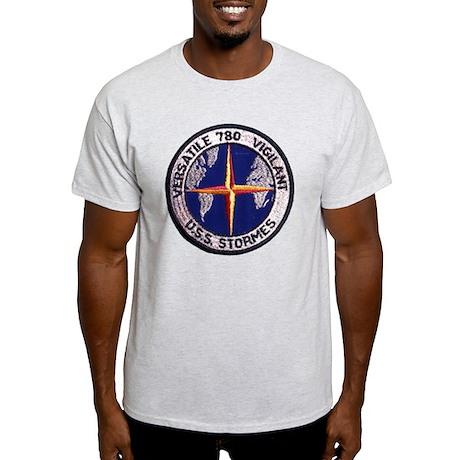 uss stormes patch transparent Light T-Shirt