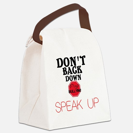 Stop Bullying Canvas Lunch Bag
