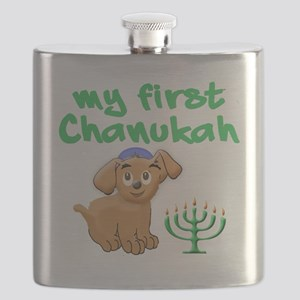 My first Chanukah Flask