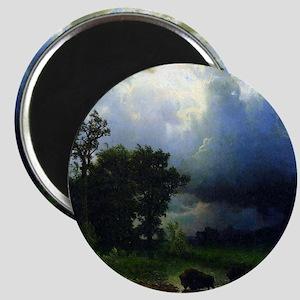Bierstadt Before The Storm Magnet