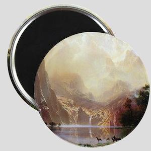 Albert Bierstadt Sierra Nevada Magnet