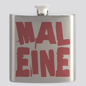 MALIGN CafePress HOT and SCARY Flask