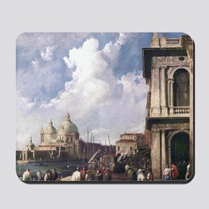 Piazza in Venice by Canaletto Mousepad