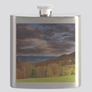 Fall Mountains Flask