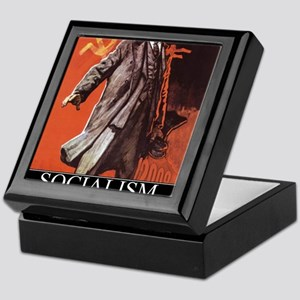 Socialism - What did you expect? Keepsake Box