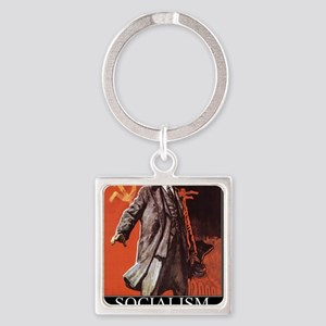 Socialism - What did you expect? Square Keychain