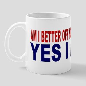 ART Yes I am sticker Mug