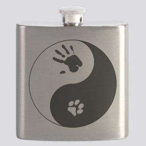 Cat Therian Ying Yang Flask