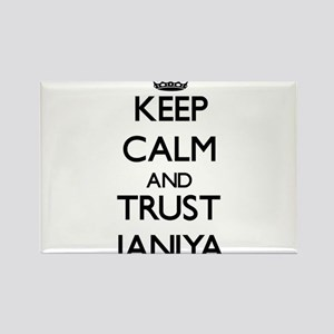 Keep Calm and trust Janiya Magnets