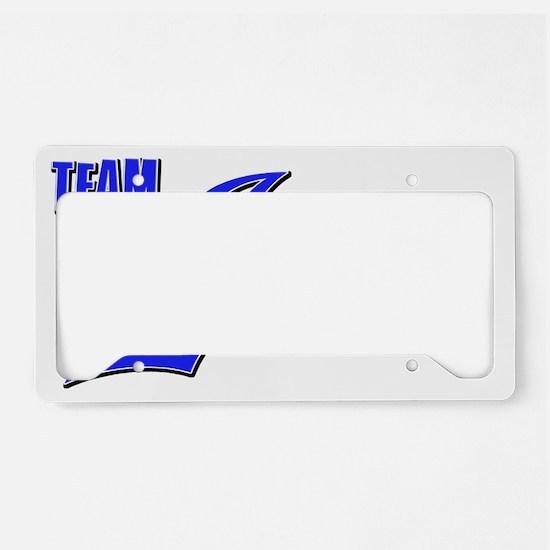 Team Ivan License Plate Holder
