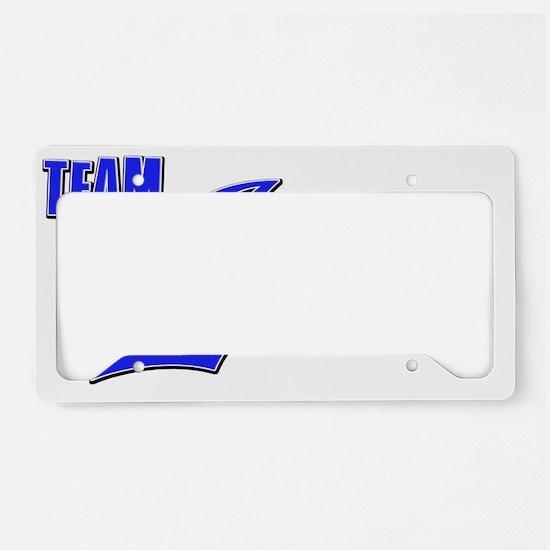 Team Jason License Plate Holder
