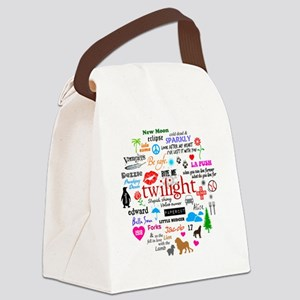 Twilight Canvas Lunch Bag