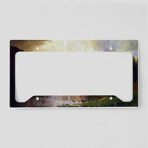 Albert Bierstadt Sierra Nevad License Plate Holder
