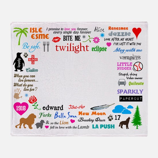 Twilight Throw Blanket