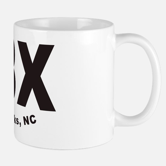 OBX Outer Banks Trailer Hitch Cover Mug
