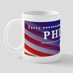 Terry Phillips For Congress Sticker Mug